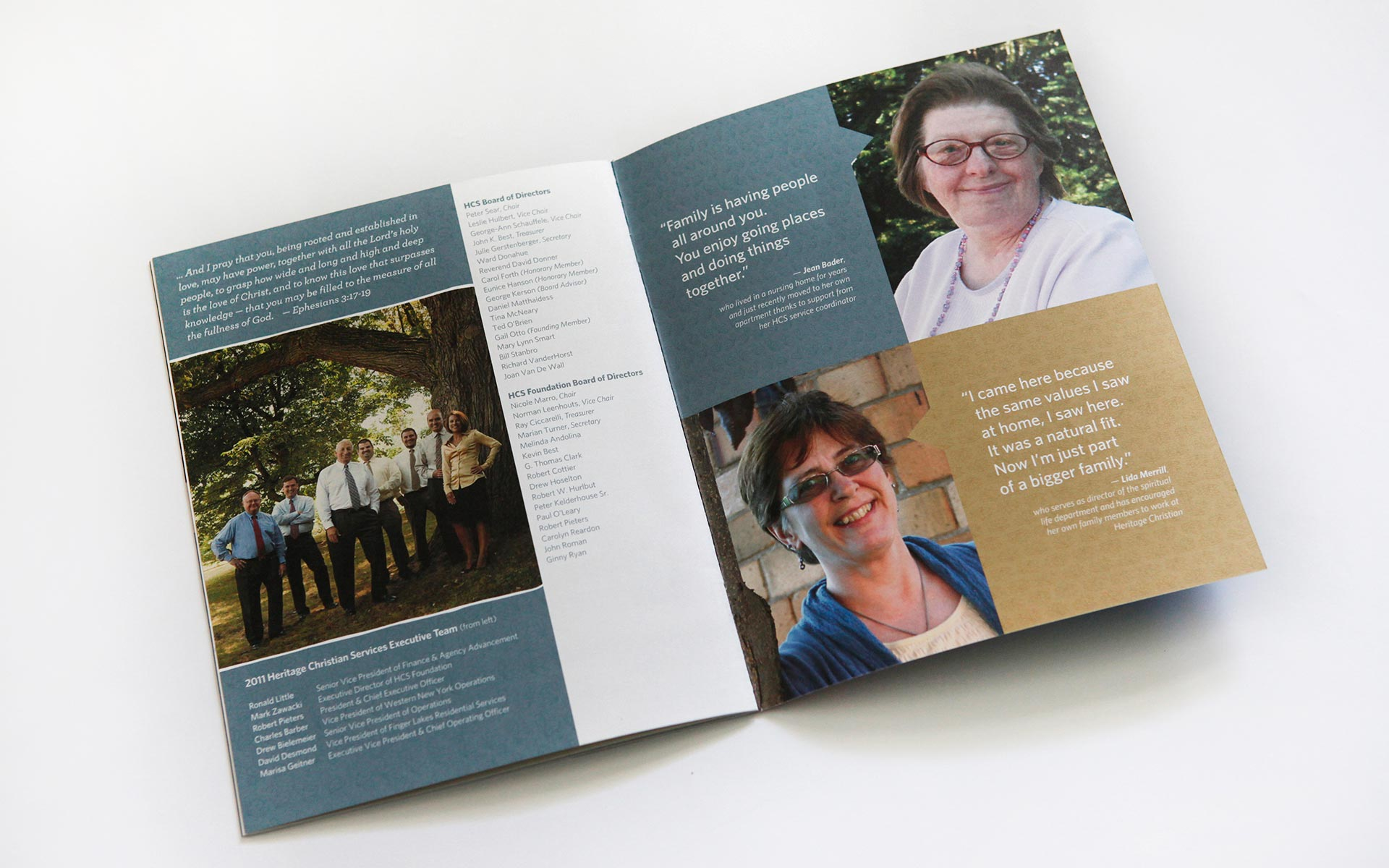 Editorial Work: Heritage Christian Services